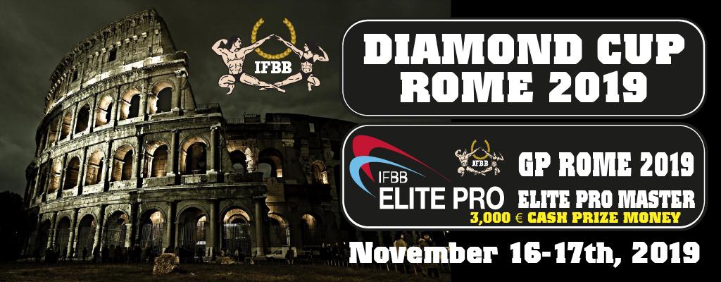 Znalezione obrazy dla zapytania diamond cup roma 2019 ifbb