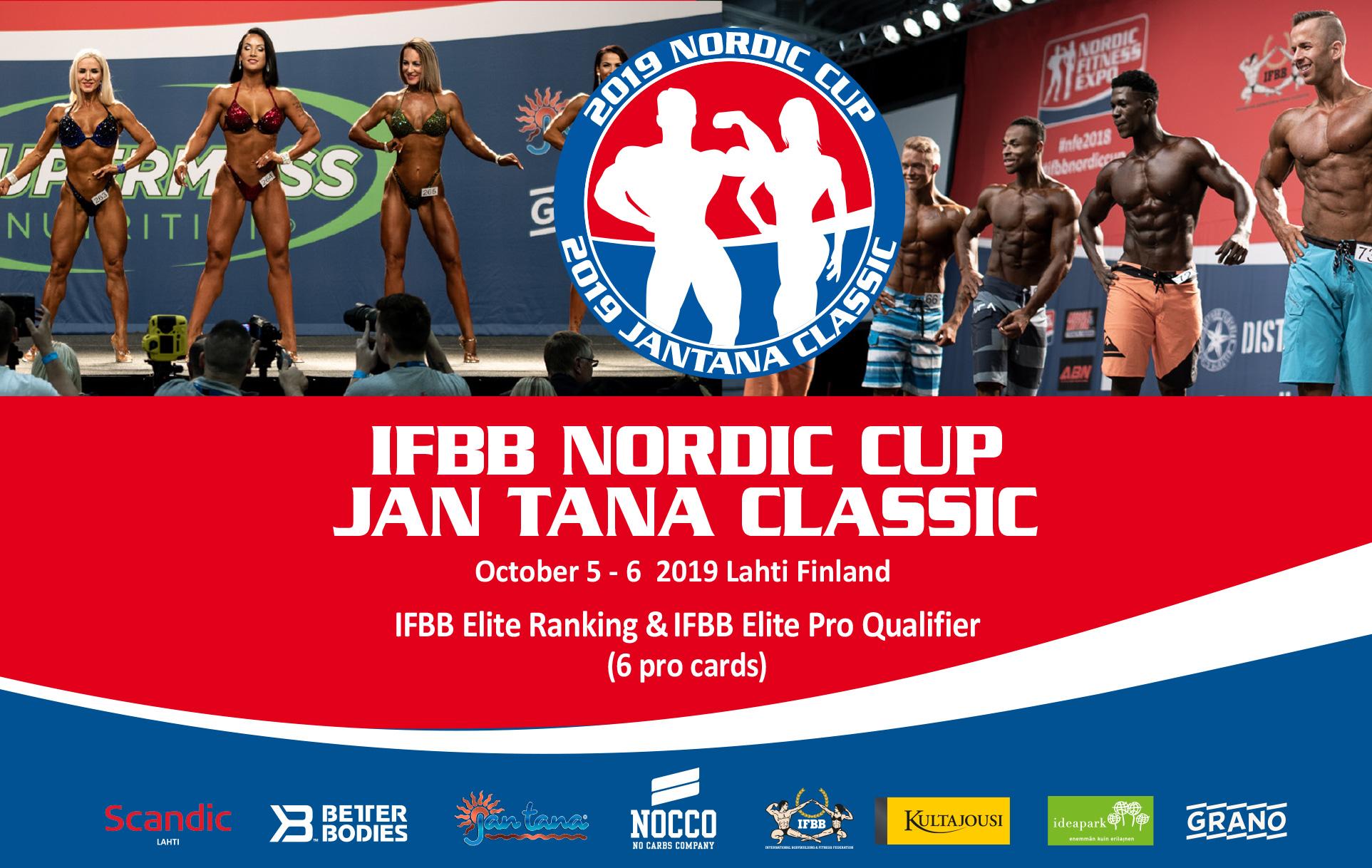 Znalezione obrazy dla zapytania: Nordic Cup 2019 ifbb