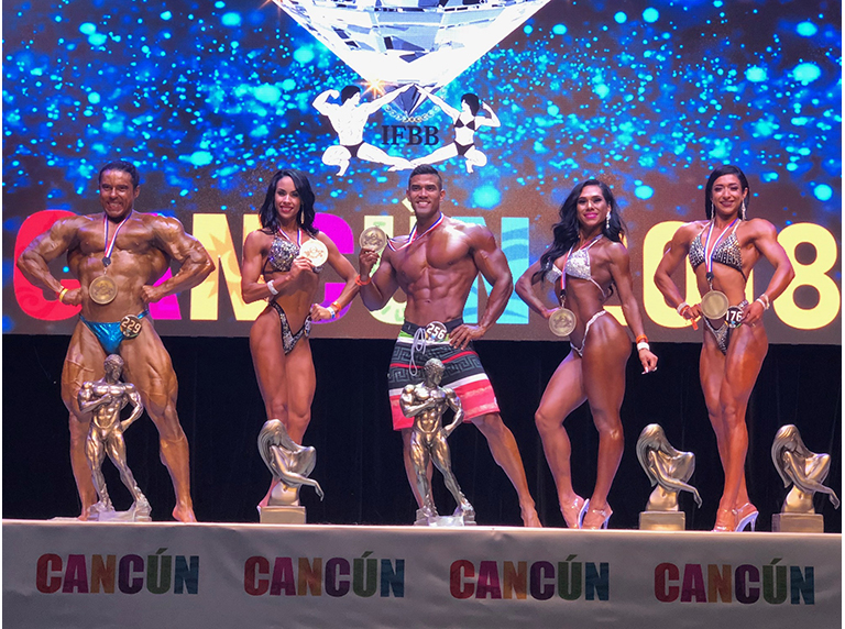 Todos los overall diamond Cup Cancun 2018