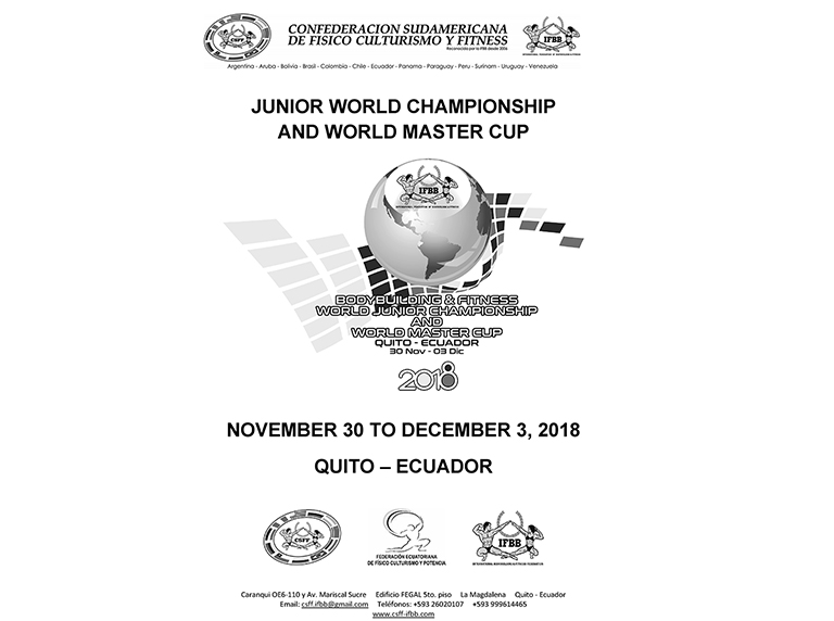 INSPECTION-REPORT-JUNIOR-WORLD-CHAMPIONSHIP-MASTER-WORLD-CUP-QUITO-ECUADOR-2018-1