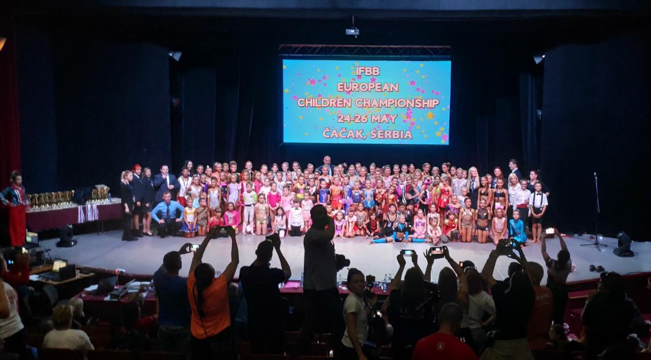 IFBB EUROPEAN CHILDREN FITNESS CHAMPIONSHIP 2019