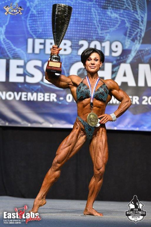 2019 Ifbb World Fitness Championships Bratislava Slovakia The Winners