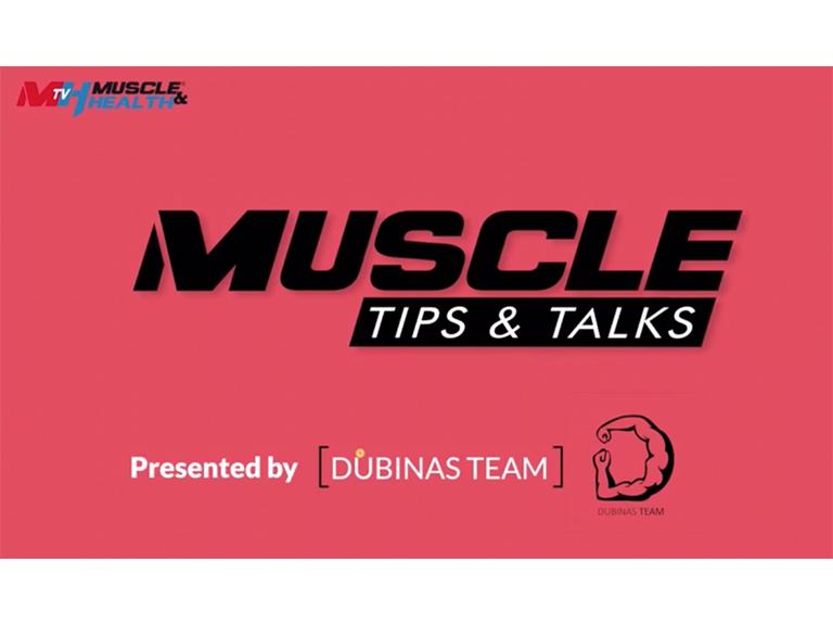 muscle tips & talks foto