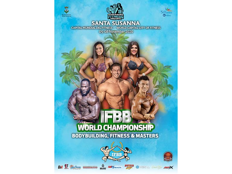 Ctos Mundo IFBB 2020; Información completa