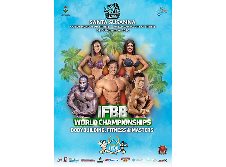 Poster IFBB World Bodybuilding-Fitness-Master Championhips 2020