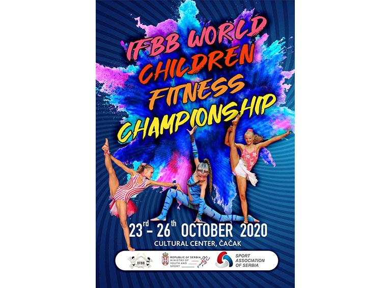 poster 2020 IFBB WORLD CHILDREN FITNESS CHAMPIONSHIP2