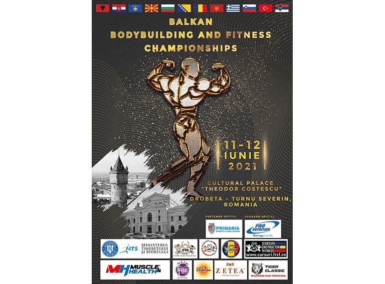 POSTER BALKAN CHAMPIONSHIPS