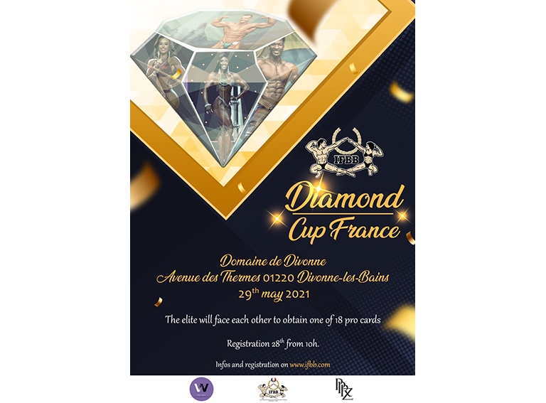POSTER DIAMPND CUP FRANCE