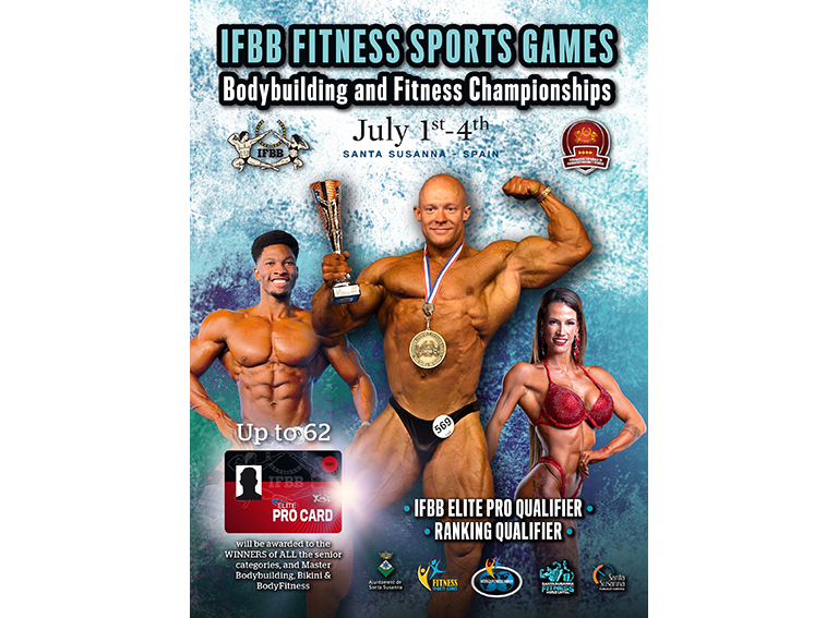 POSTER fitness soports games amatuer